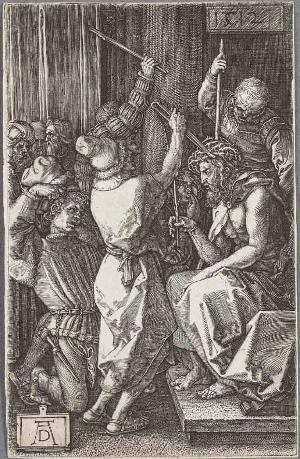 Die Dornenkrönung (Die Kupferstichpassion), 1512