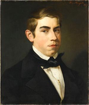 Bildnis des Malers Blanckarts, vor 1857