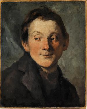Portrait eines Jungen, nicht datiert