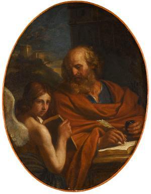 Hl. Matthäus Evangelist, 2. Hälfte 17. Jh.