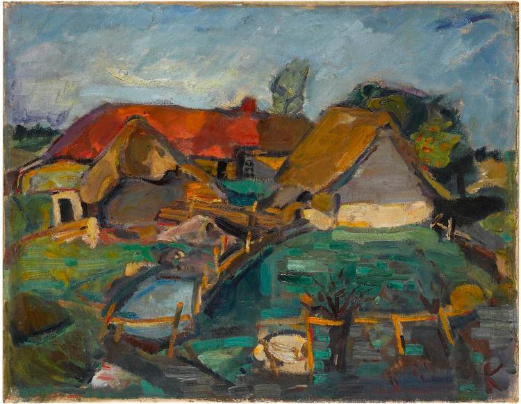 Bauernhof in Livland
