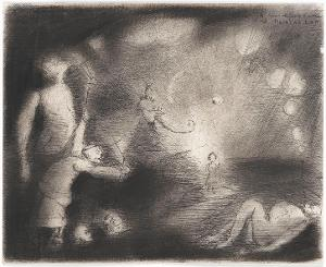 Verhöhnung der Jugend (aus: Captivity), 1940