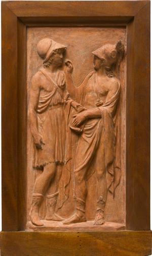 Alexander der Große und Hephaistion, um 1790-1793