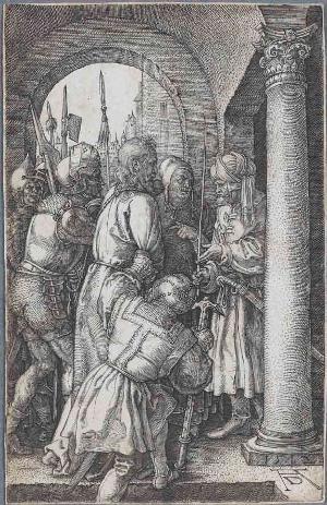 Christus vor Pilatus (Die Kupferstichpassion), 1512