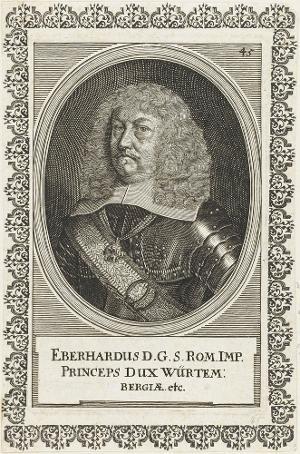 Eberhard III., Herzog von Württemberg (1614-1674) , 17. Jh.