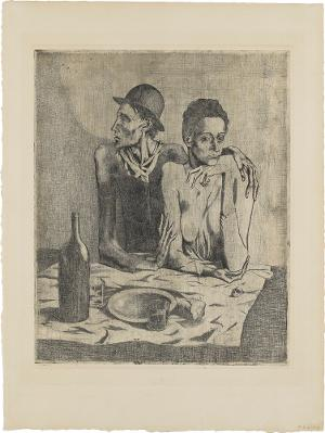 Le Repas frugal (Das kärgliche Mahl), Herbst 1904/1913