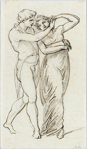 Tanzendes Paar, nicht datiert