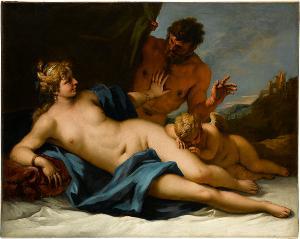Venus und Satyr, um 1720/25