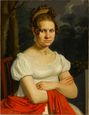 Damenbildnis, 1817
