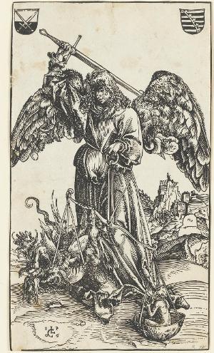 Der Heilige Michael als Seelenwäger, 1506