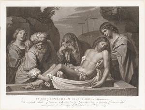 Grablegung Christi, 1802