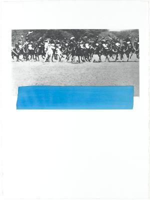 Kavallerie (Blatt 6 in: Hegels Keller), 1986