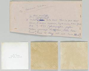 This Is Not Here: Everson Museum, Syracuse, New York / Einladung zur Ausstellungseröffnung, 1971