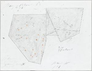 Plan 1:6 for Metrical Romanesque Constructions in 5 masses and 2 scales IV; mass of plane 10 cm, 1976