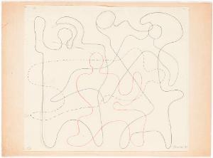 Linienfiguren, 1933