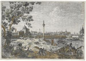 Imaginäre Ansicht von Padua, 1744