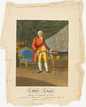 Ludwig Eugen, Herzog von Württemberg (1731-1795), 18. Jh.