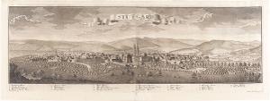 Ansicht von Stuttgart, um 1730