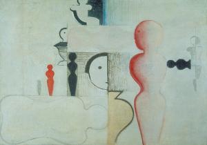 Plan mit Figuren, 1919