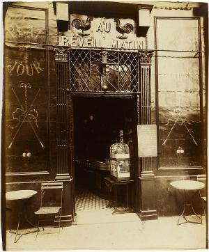 Au Réveil Matin, um 1900