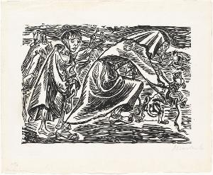 Hundefängerin, 1919