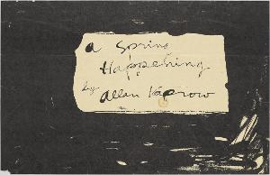 A Spring Happening, 1961