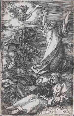 Christus am Ölberg (Die Kupferstichpassion), 1508