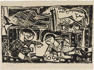 La Mère et les enfants (Die Mutter und die Kinder), 20.1.1953