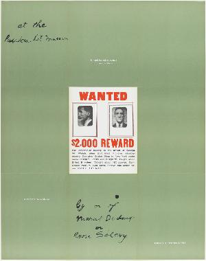 Plakatgestaltung »A Poster Within a Poster«, Pasadena, 1963, 1963