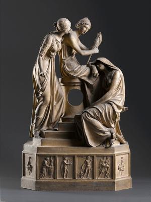 Die Parzen als Uhrgehäuse, 1795