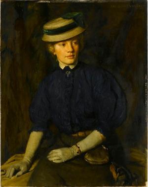 Bildnis der Schwester des Künstlers, nicht datiert