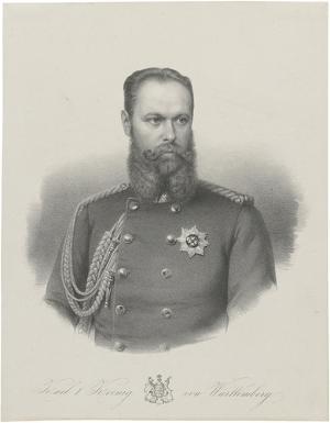 Karl I. König von Württemberg, nach 1864
