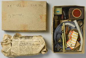 AKTUAL PARCEL by Jan Mach, 1966
