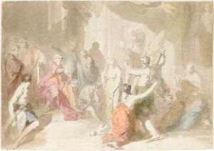 Salomos Urteil, 1770/72