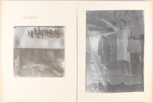 Heroische Sinnbilder, Seite 11: (Selbstbildnis im Atelier), 1969