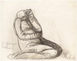 Die schwangere Bettlerin, 1906/07
