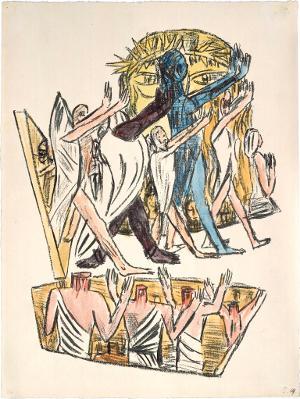 Apokalypse: Die Seelen derer, die enthauptet sind (Offenbarung XX, 4), 1941/42