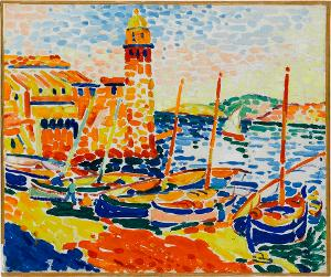 Le port de Collioure (Der Hafen von Collioure), 1905