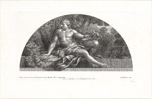 Apoll belebt die Liebe zu den Künsten wieder (Die Fresken in Florenz), 1691