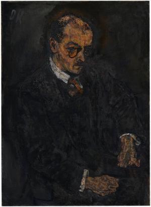Bildnis Dr. Hermann Schwarzwald, 1911