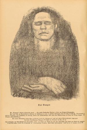 Das Bangen (in: Kriegszeit 10, 28. Oktober 1914), 1914