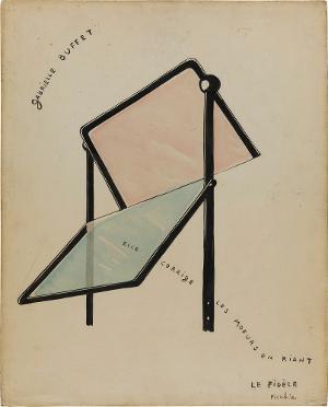 Gabrielle Buffet (Elle corrige les moeurs en riant), 1915