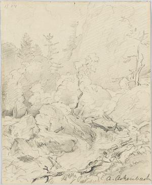 Gebirgsbach, 1864