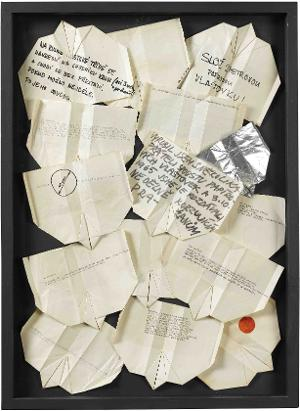 Paper Gliders (Fliegendes Buch), 1965/1966