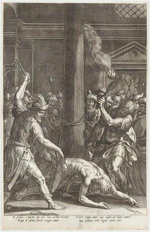 Die Geißelung Christi (Die Passion Christi), um 1600