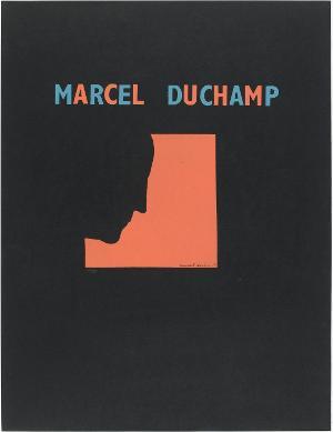 Plakatgestaltung zur Ausstellung »Sur Marcel Duchamp«, 1959