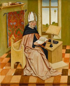 Der Heilige Augustinus, um 1470