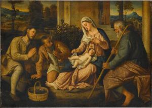 Anbetung der Hirten, 1. Hälfte des 16. Jahrhunderts