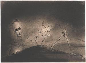 Skeletthügel (aus: Captivity), 1940