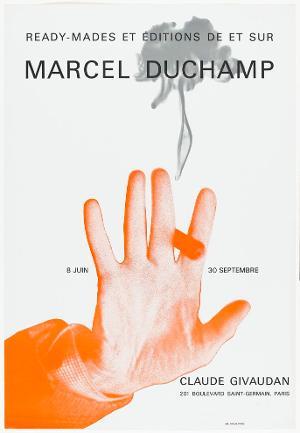 Plakatgestaltung: Ready-mades et éditions de et sur Marcel Duchamp, 1967